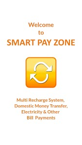 screenshot of Smart Pay Zone Retailer version 1.0