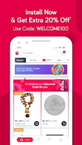 screenshot of Snapdeal Online Shopping App - Shop Online India version 7.0.7