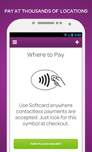 screenshot of Softcard(formerly Isis Wallet) version 2.02.01-build.03.0