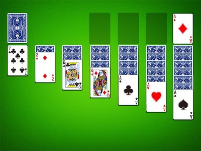 screenshot of Solitaire version 2.206.0