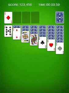 screenshot of Solitaire version 2.175.0