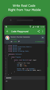 screenshot of SoloLearn: Learn to Code for Free version 2.5.1