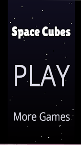 screenshot of Space Cubes version 1.0.1