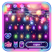 Sparkle Neon Lights keyboard Theme