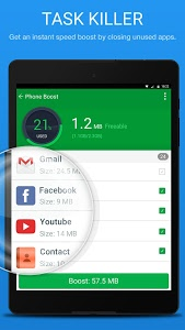 screenshot of Phone Speed Booster - Junk Removal and Optimizer version 1.3.6