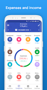 screenshot of 1Money - Expense Tracker, Money Manager, Budget version 2.1.1