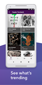 screenshot of Spinrilla - Hip-Hop Mixtapes & Music version Varies with device