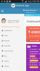 screenshot of Stanford International School version v3modak