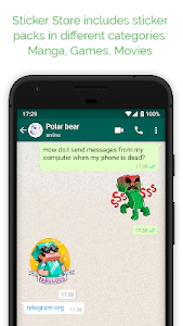 screenshot of Sticker Store for WAStickerApps version 1.5.8