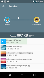 screenshot of Easy Share : WiFi File Transfer version 1.2.22