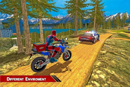 screenshot of Super Spider Hero Pizza Delivery version 1.0