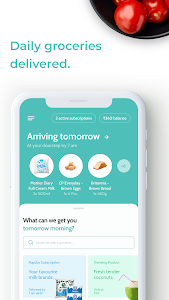 screenshot of Supr Daily – Milk & Groceries Delivered Daily version 3.0.37