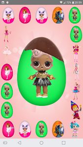 screenshot of Surprise Eggs Girls version 3.9