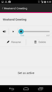 screenshot of T-Mobile Visual Voicemail version 5.27.9.81528