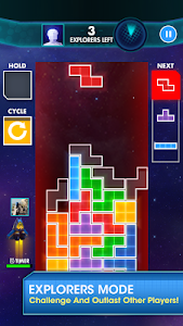 screenshot of TETRIS version 3.0.10