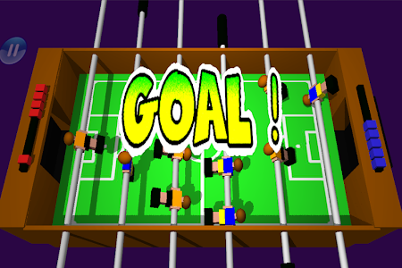 screenshot of Table Football, Soccer 3D version Varies with device