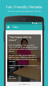 screenshot of Tala Philippines version 7.13.0