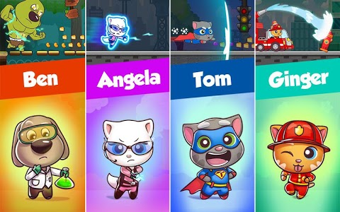 screenshot of Talking Tom Candy Run version 1.4.5.259