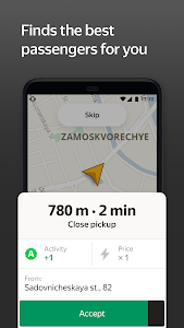 screenshot of Taximeter — start driving a taxi today version 9.3