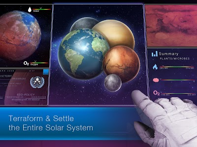 screenshot of TerraGenesis - Space Settlers version 4.9.42