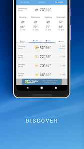 screenshot of The Weather Network: Local Forecasts & Radar Maps version Varies with device