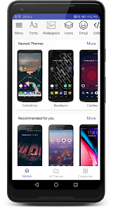 screenshot of Themes Manager for Huawei / Honor EMUI version 80.2.3.release