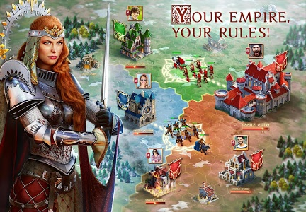 screenshot of Throne: Kingdom at War version Varies with device