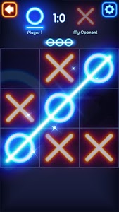 screenshot of Tic Tac Toe Glow version Varies with device