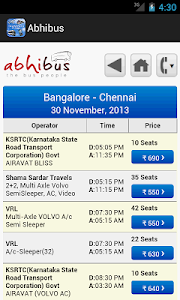 screenshot of Ticket Booking and Recharge version 2.2