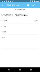 screenshot of TimeSheet version 0.4.0