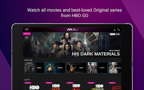screenshot of meWATCH (Previously Toggle) - Video | TV | Movies version V3.6.1