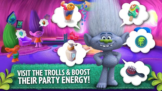 screenshot of Trolls: Crazy Party Forest! version 3.6.0