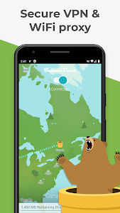 screenshot of TunnelBear: Virtual Private Network & WiFi Proxy version 3.1.3