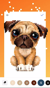 screenshot of Unicorn Pug - Color By Number & Pixel No Draw version 1.1.1