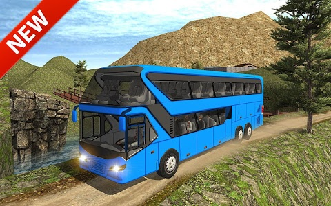 screenshot of Uphill offroad bus driving sim version 1.0.9