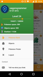 screenshot of Utilities for Pokemon GO version 1.3.4