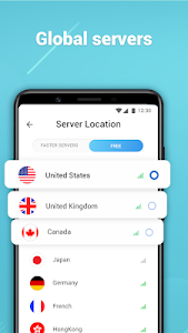 screenshot of Free VPN - Unlimited Free VPN & Fast Security version 124