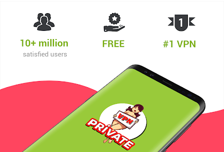 screenshot of VPN Private version 1.7.5