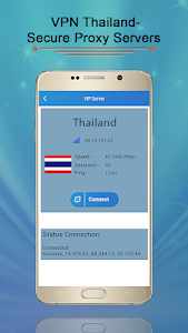 screenshot of VPN Thailand-Secure Proxy Servers version 3.0