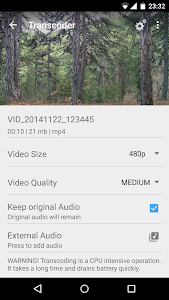 screenshot of VidTrim - Video Editor version 2.6.1