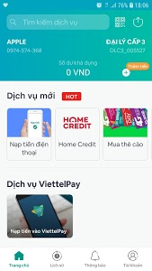 screenshot of ViettelPay Pro (Bankplus KPP) version 2.6.7