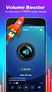 screenshot of Volume Booster & MP3 Player with Equalizer version 3.2
