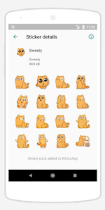 screenshot of WASTickerApps For Chat version 2.0