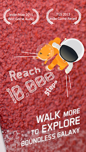 screenshot of Walkr: Fitness Space Adventure version 4.12.0.1