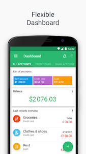 screenshot of Wallet - Finance Tracker and Budget Planner version Varies with device