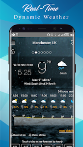 screenshot of Weather today - Weather Forecast Apps 2019 version 6