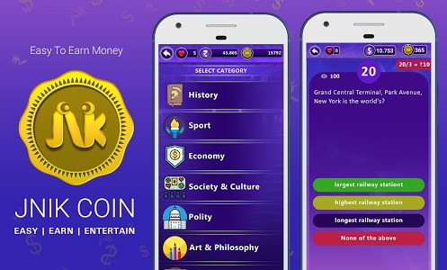 screenshot of Win Money Real Cash - Play GK Quiz & Become Rich version 6