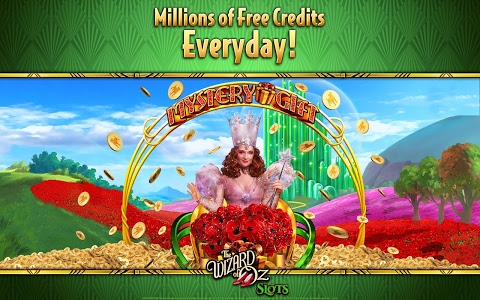 screenshot of Wizard of Oz Free Slots Casino version 62.0.1893