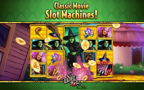 screenshot of Wizard of Oz Free Slots Casino version 77.0.1936