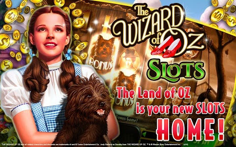 screenshot of Wizard of Oz Free Slots Casino version 15.0.258